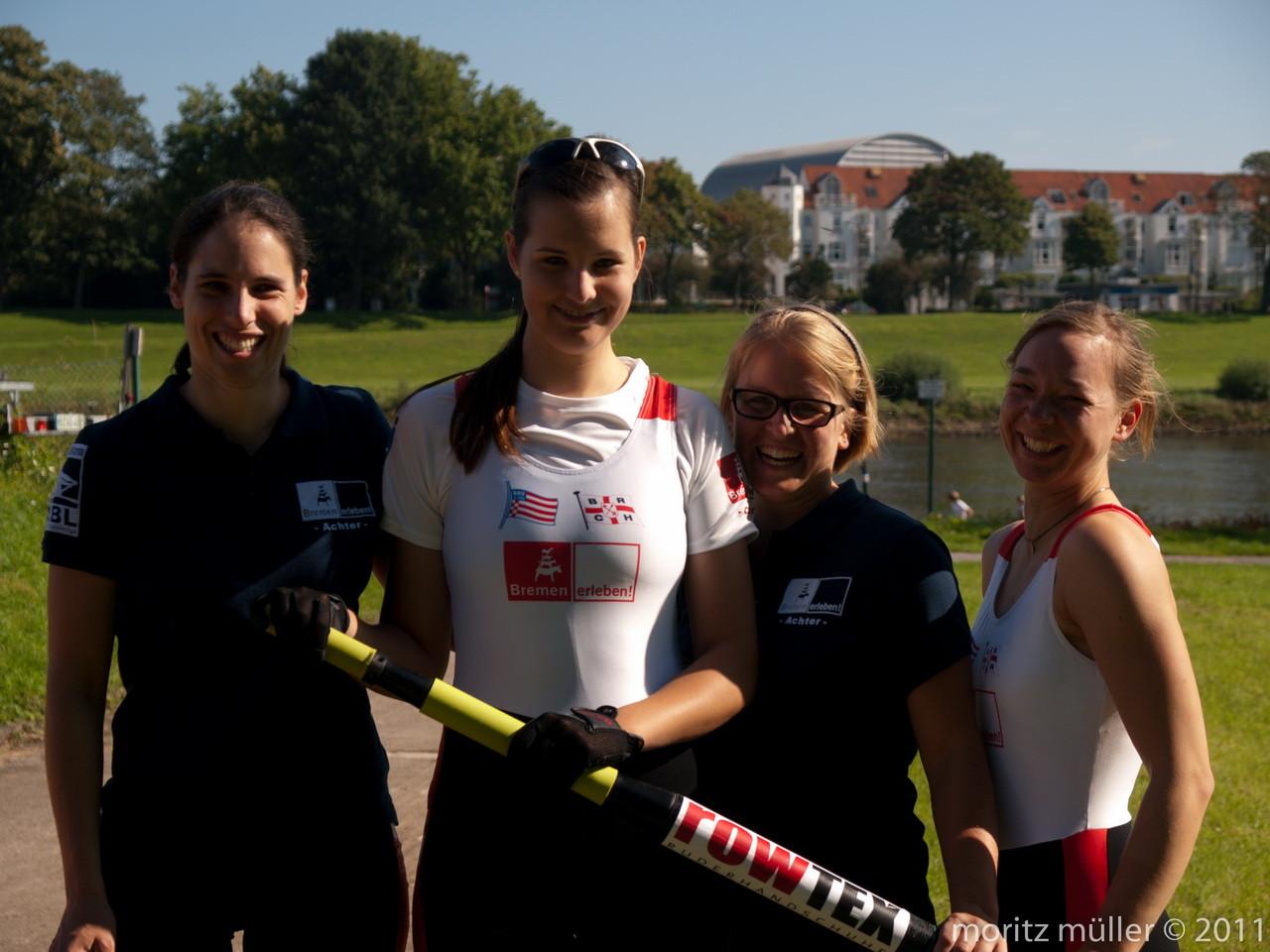 Der Bremen Erleben W8+ mit rowtex Handschuhen