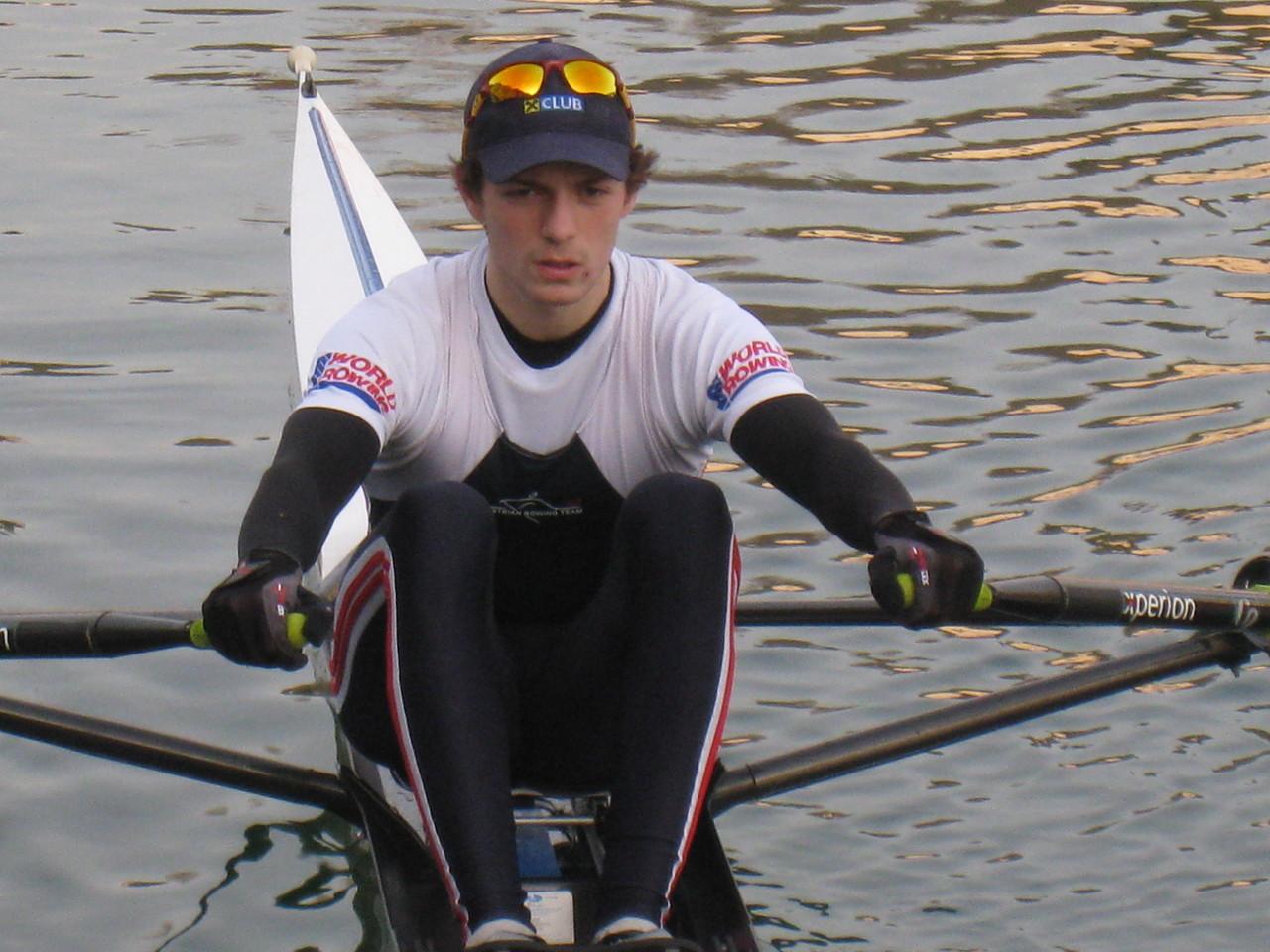 Joschka Hellmeier, WM-Teilnehmer