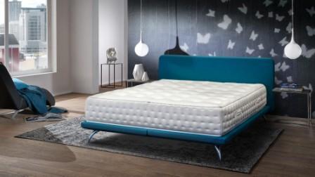 Wasserbett Modell Trendy Villingen-Schwenningen Leder Blau