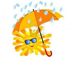 Wasserbett Sonne und Regen