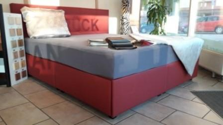 Wasserbett in Boxspring Optik