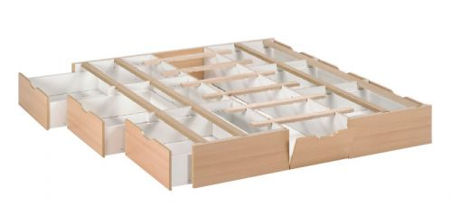 Wasserbett mit 6 Schubladen