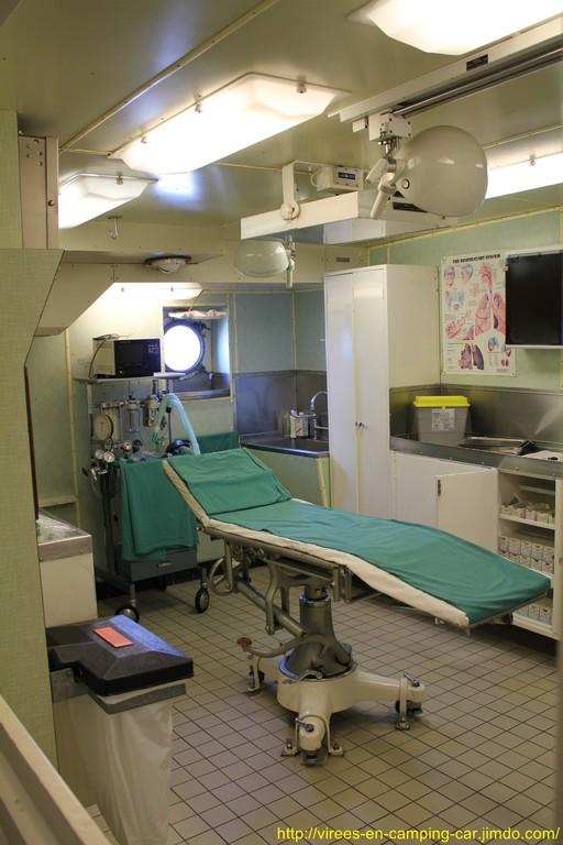 la salle d'opération