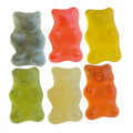Minibären 6-farbig