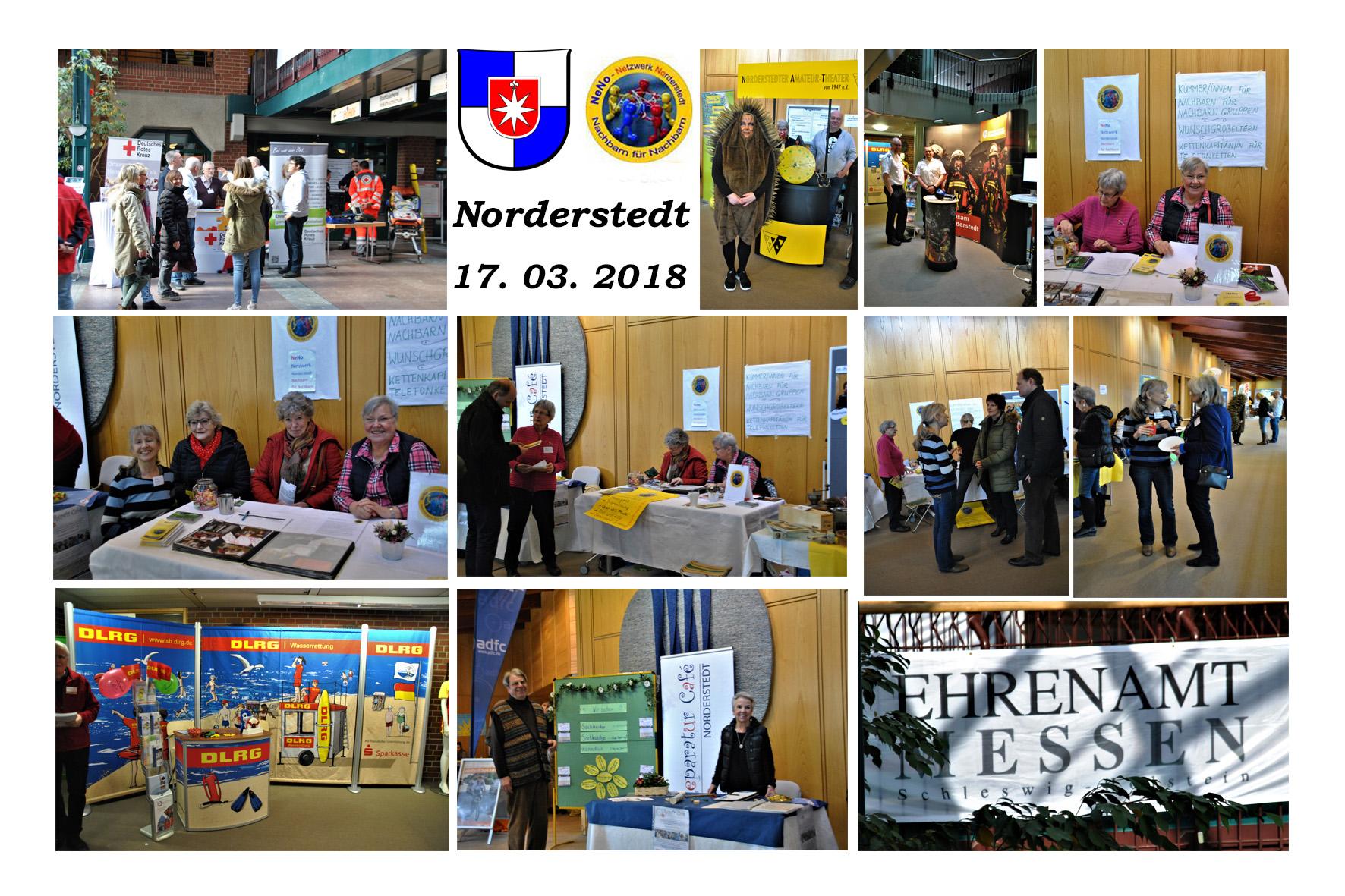 NeNo/Glashütte 2: Ehrenamt Messe in Norderstedt, 17.03.2018 (Fotos: Tom)