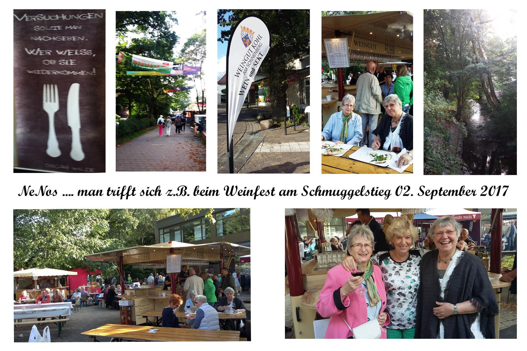 NeNo/Glashütte 2: Weinfest am Schmuggelstieg, 02.09.2017 (Fotos: Tom)