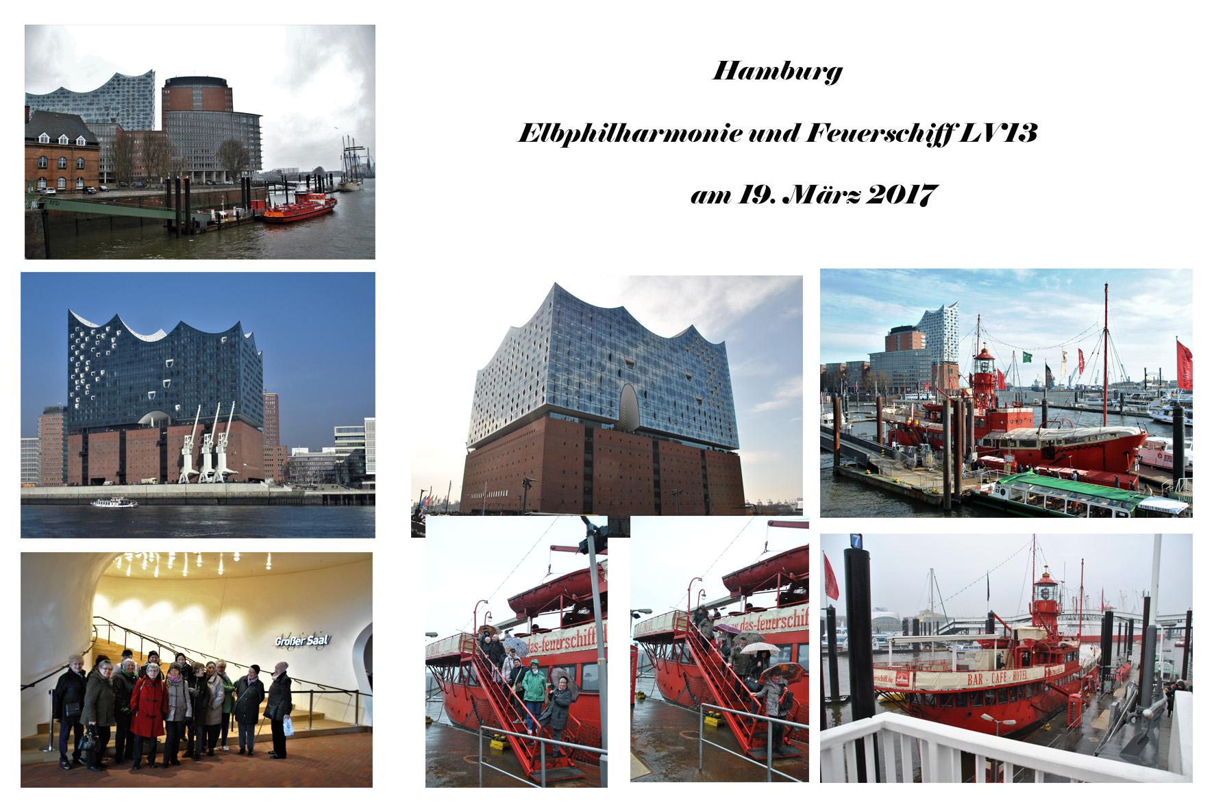 NeNo/Glashütte 2: Elbphilharmonie & Feuerschiff LV13, 19.03.2017 (Fotos: Tom)