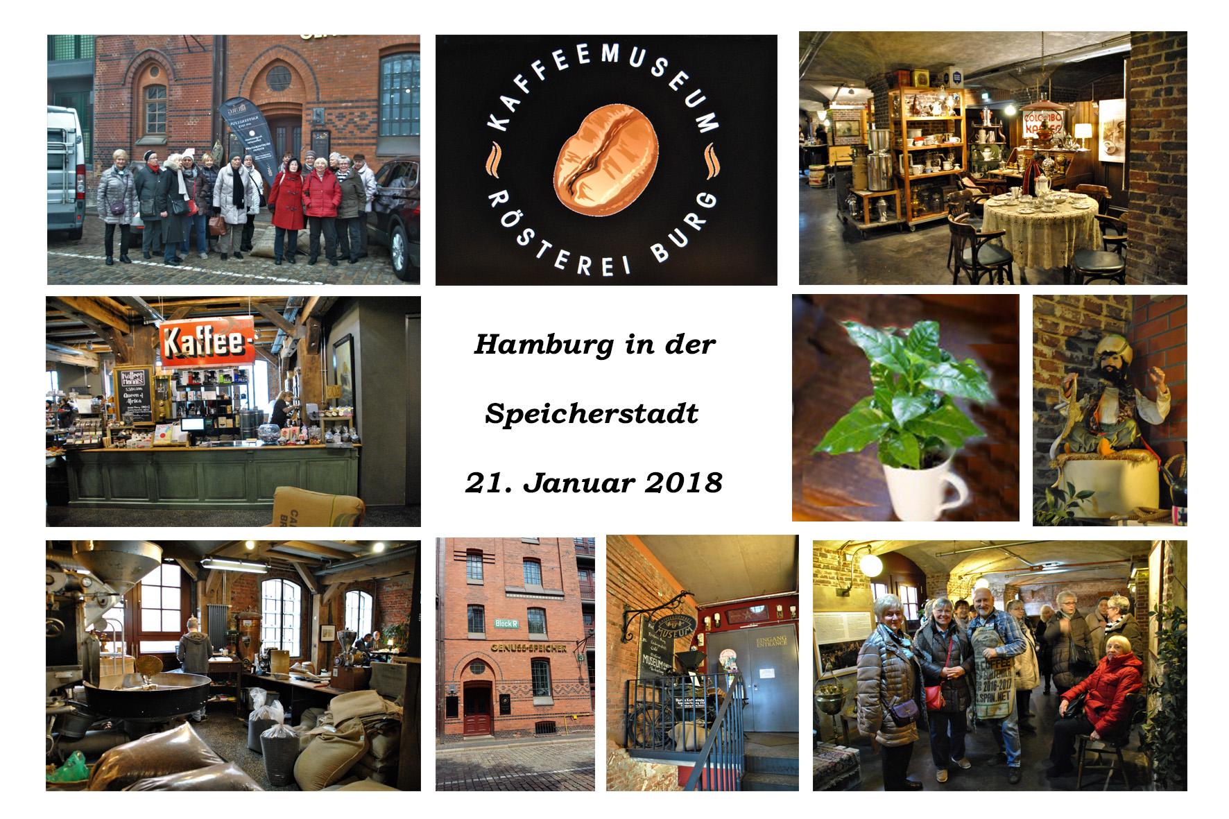 NeNo/Glashütte 2: Hamburg in der Speicherstadt, 21.01.2018 (Fotos: Tom)