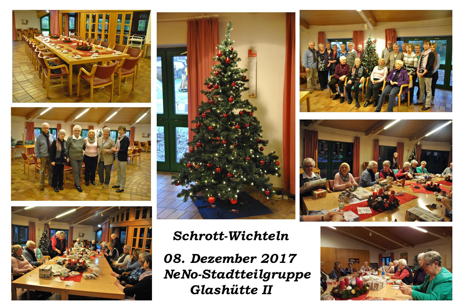 NeNo/Glashütte 2: Schrott-Wichteln, 08.12.2017 (Fotos: Tom)