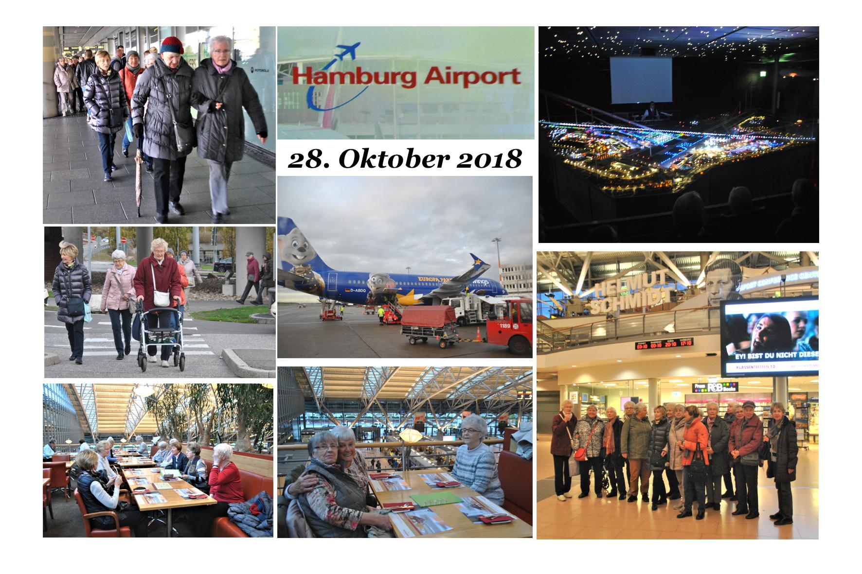 NeNo/Glashütte 2: Airport Hamburg, 28.10.2018 (Fotos: Tom)