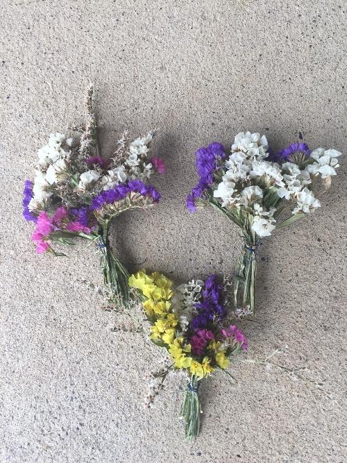 Sträusschen für Blumenschmuck