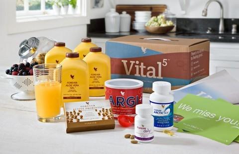 Forever Vital 5:  pour votre santé et votre vitalité