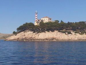 Faro di Sestrice - Croazia Isole Kornati