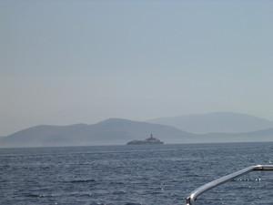 Lo scoglio tra Grecia e Albania - Grecia Ionica 2005
