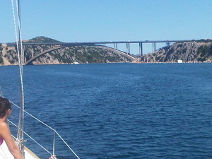 fiordo del fiume kerka - Croazia Isole Kornati