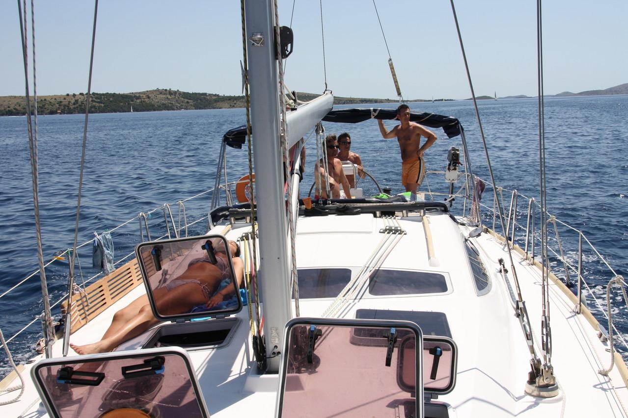 Navigazione in barca a vela Croazia