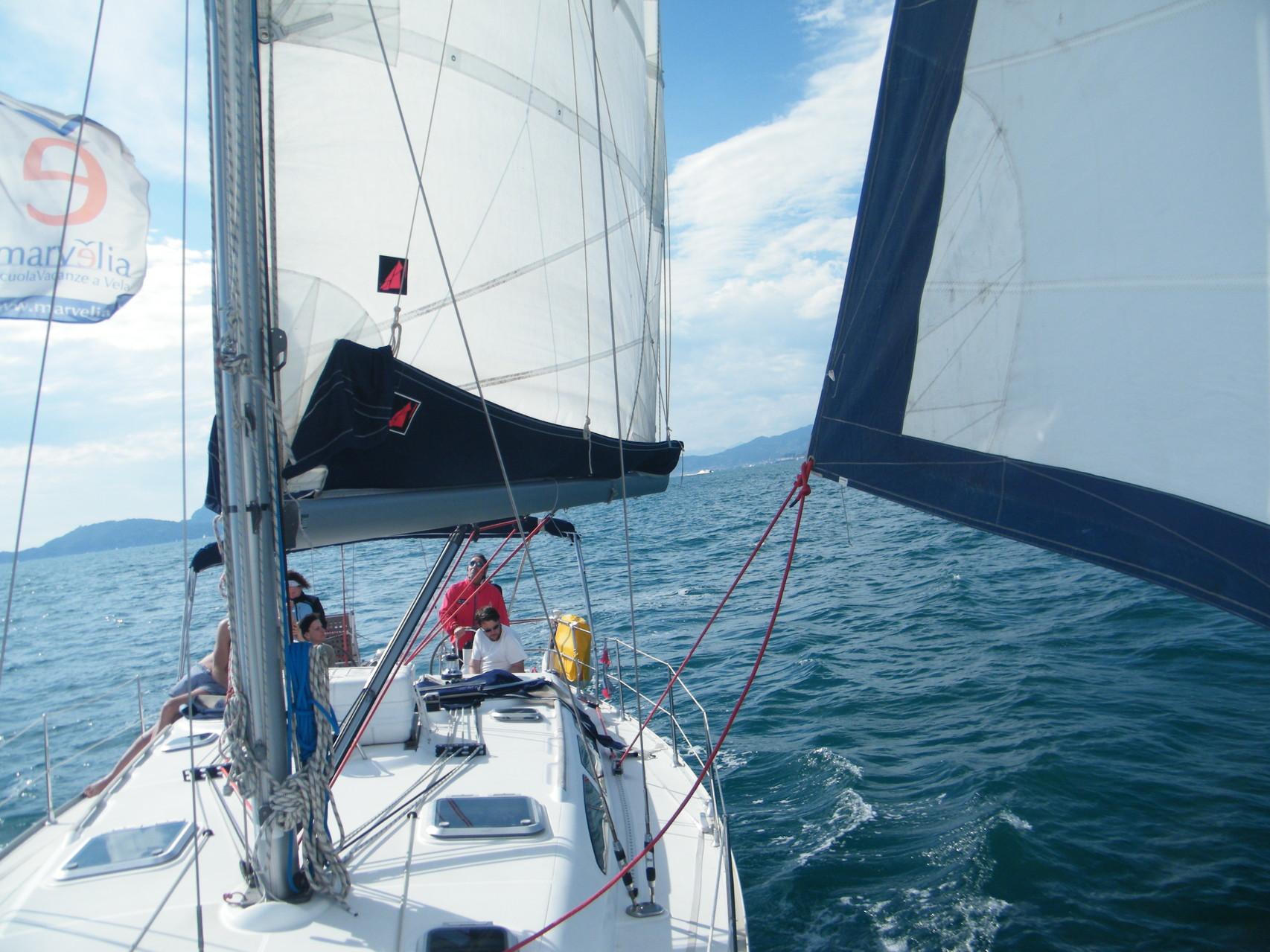 mare e vela Cinque Terre Liguria