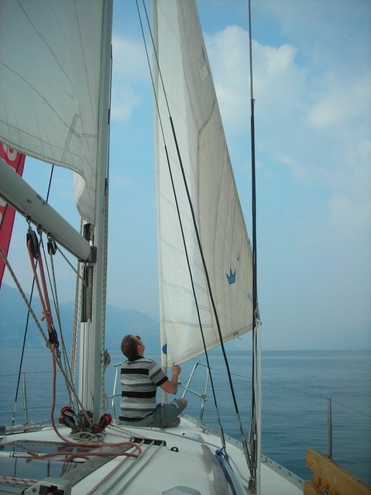 Corso di Vela sul lago di Garda
