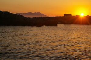 Il tramonto di Levanzo - Isole Egadi 2009