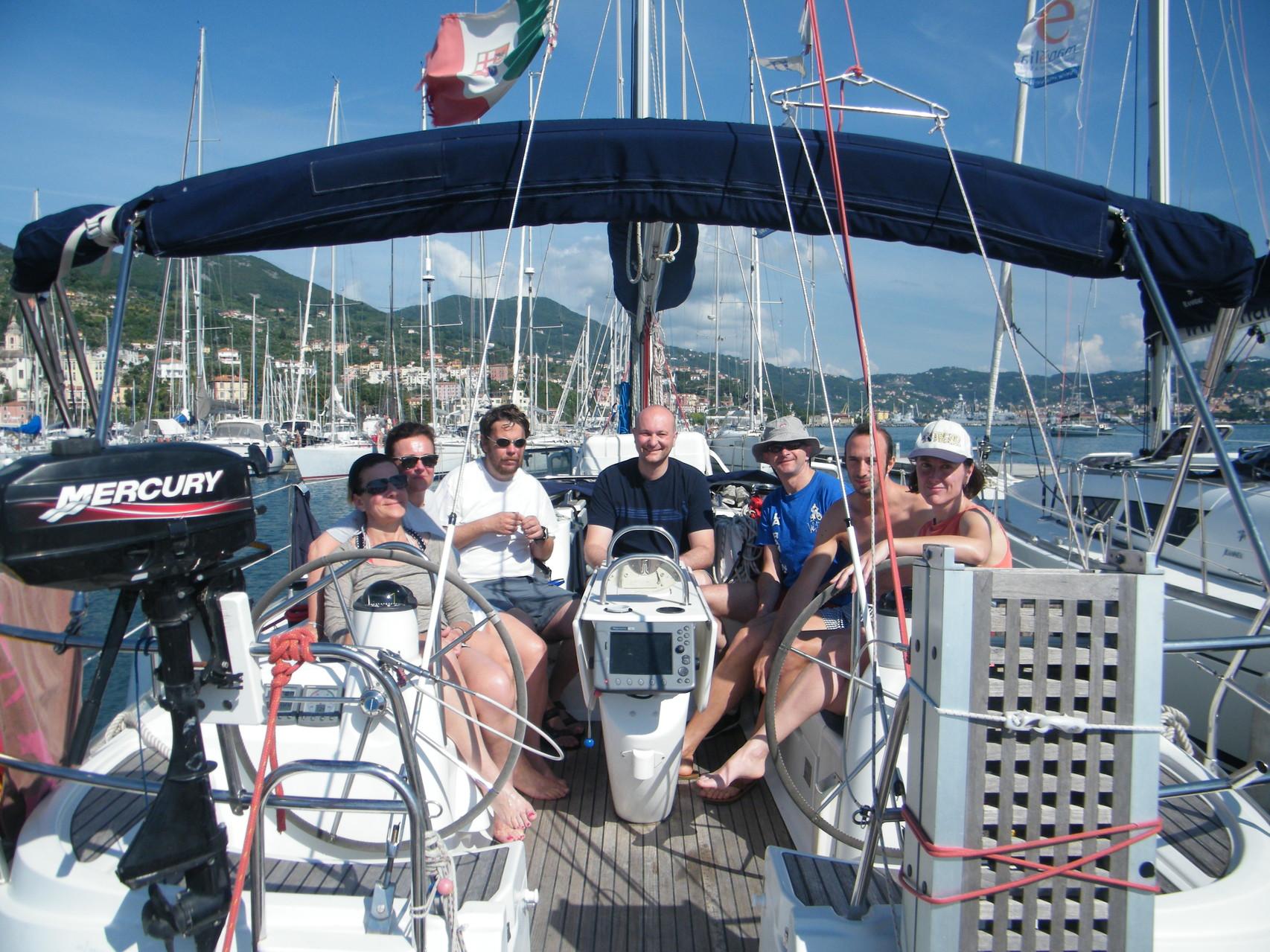 vacanze in barca a vela Cinque Terre Liguria