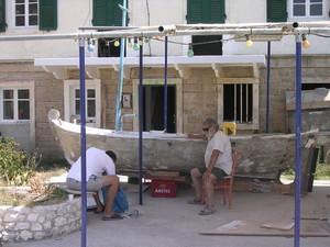 I Pescatori locali di Othonoi (Fanò) - Grecia Ionica 2005
