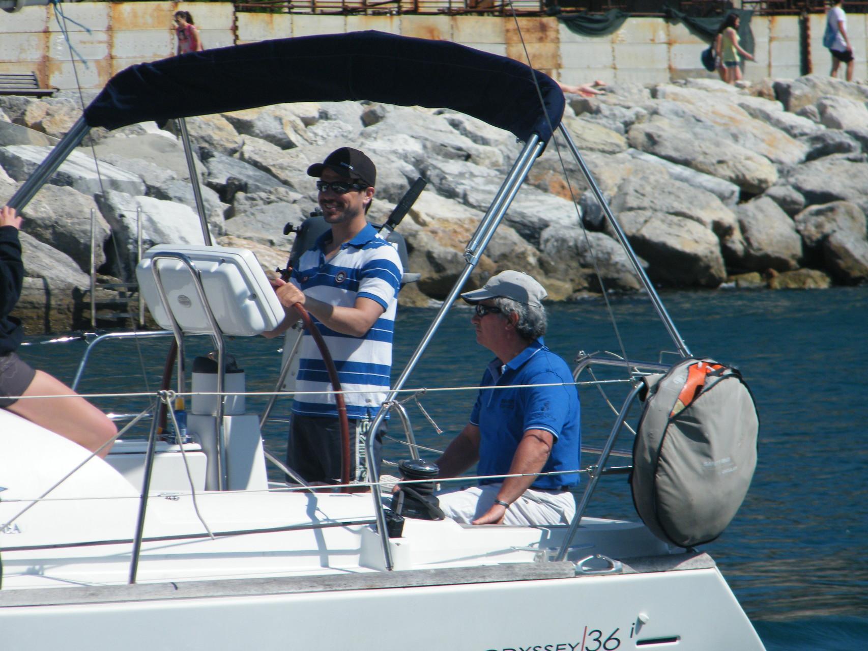 a scuola di vela nel golfo dei poeti