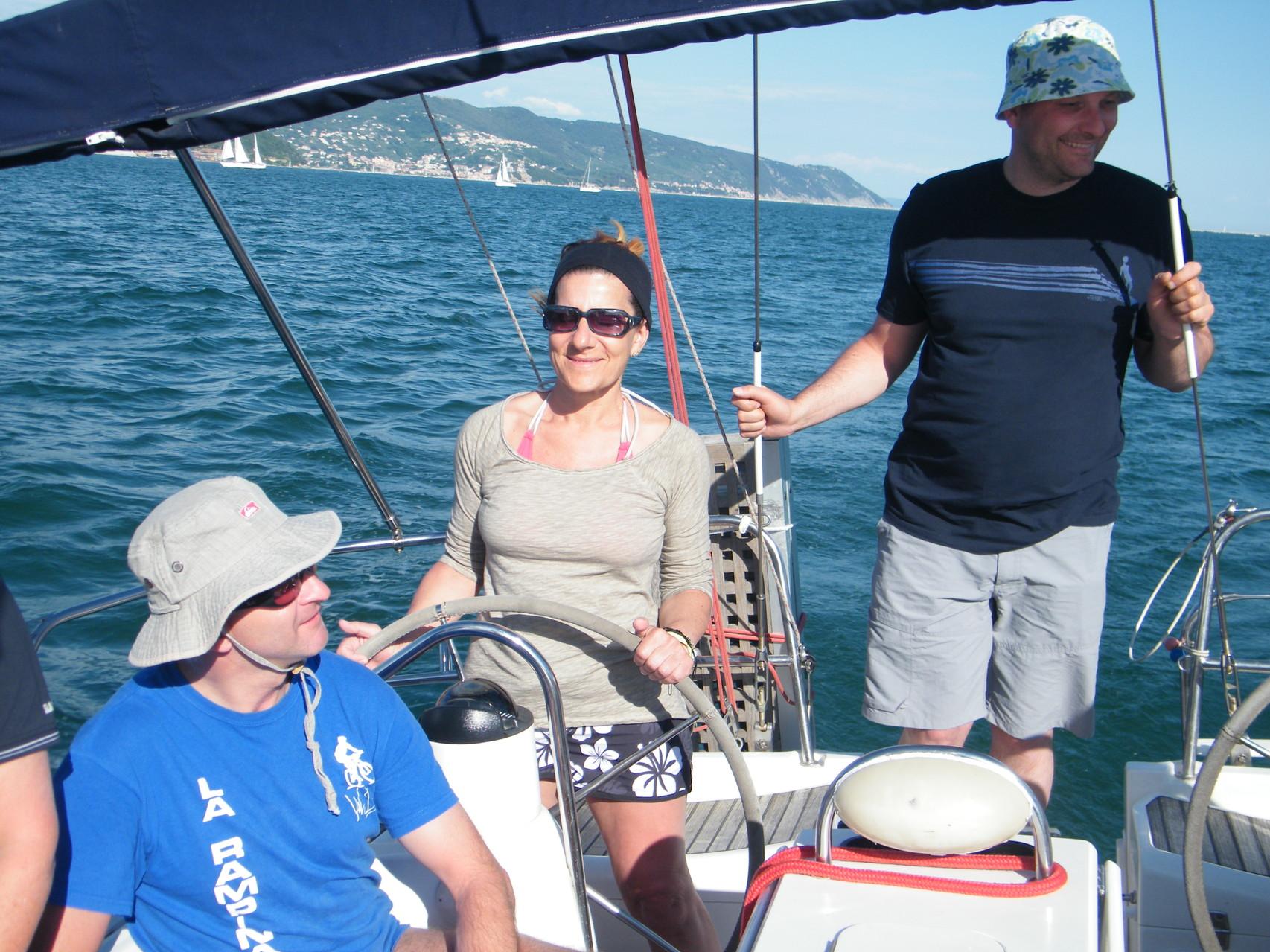scuola di mare e di vela Cinque Terre Liguria