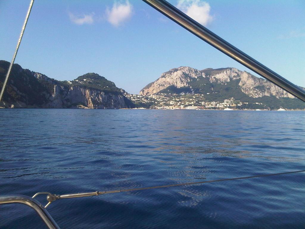 Crociera in barca a vela Golfo di Napoli e Costiera Amalfitana