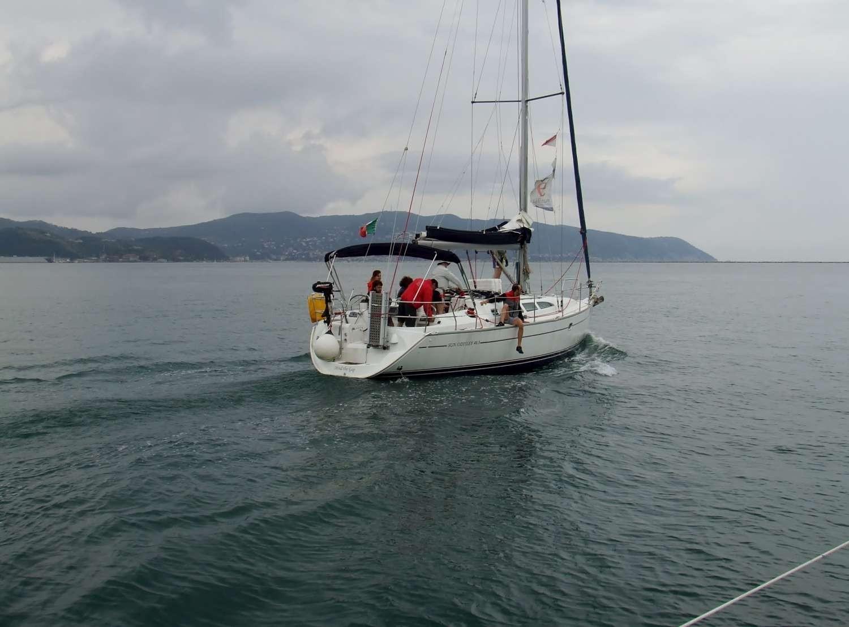 Scuola di vela week end Cinque Terre