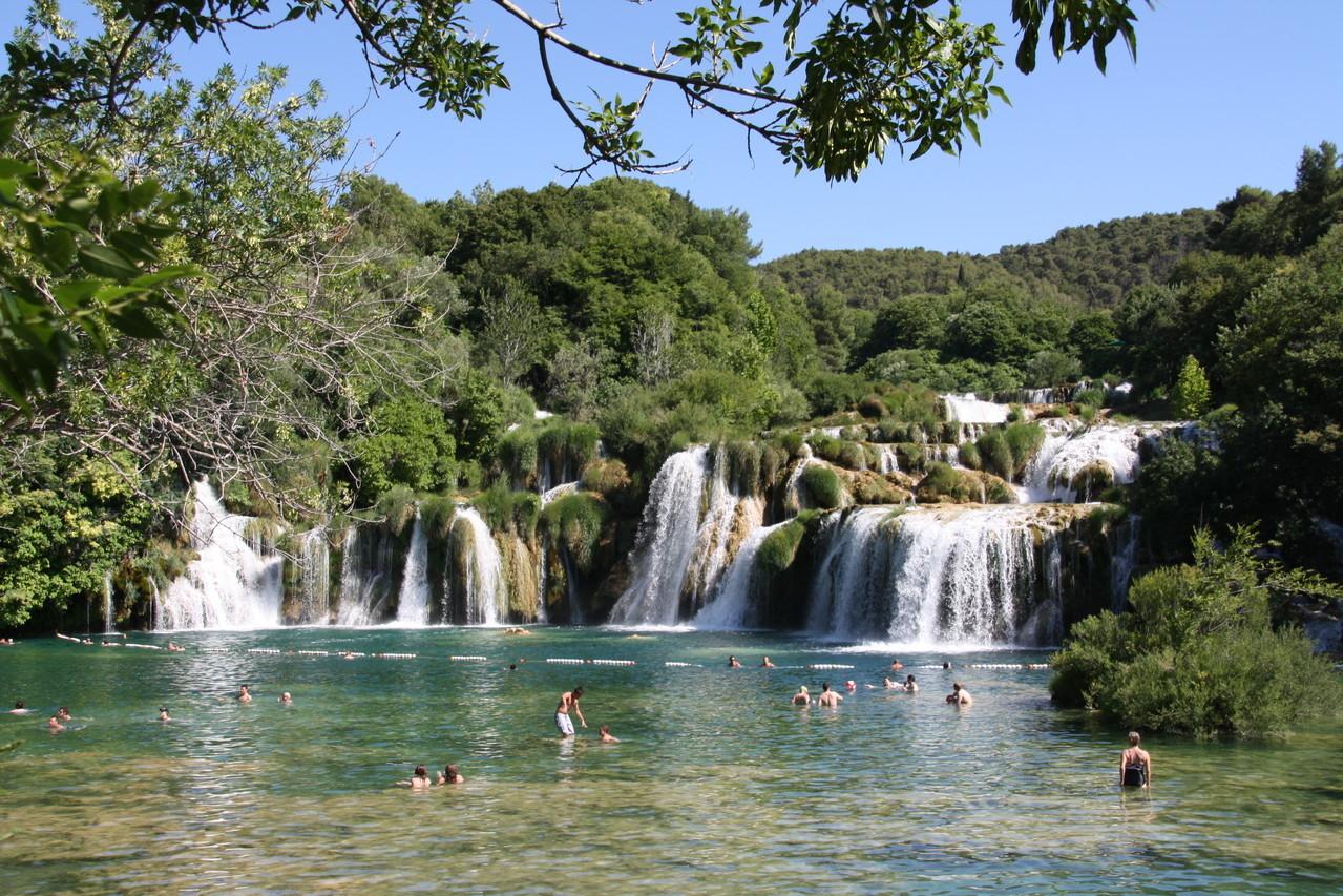 Cascate del fiume Parco della Kerka - Isole Kornati - Croazia