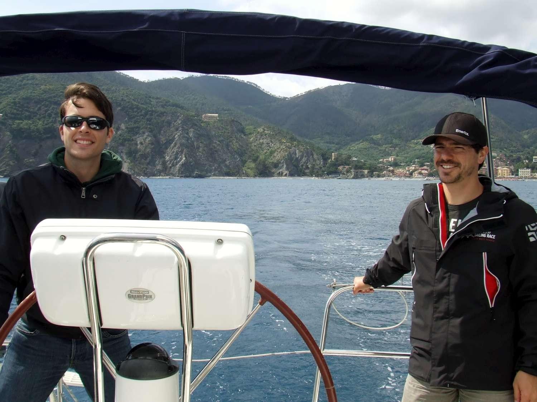 Nord Est Vela Crociera week End Scuola di Vela Cinque Terre Liguria