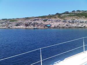 baia di Ravni Zakan - Croazia Isole Kornati