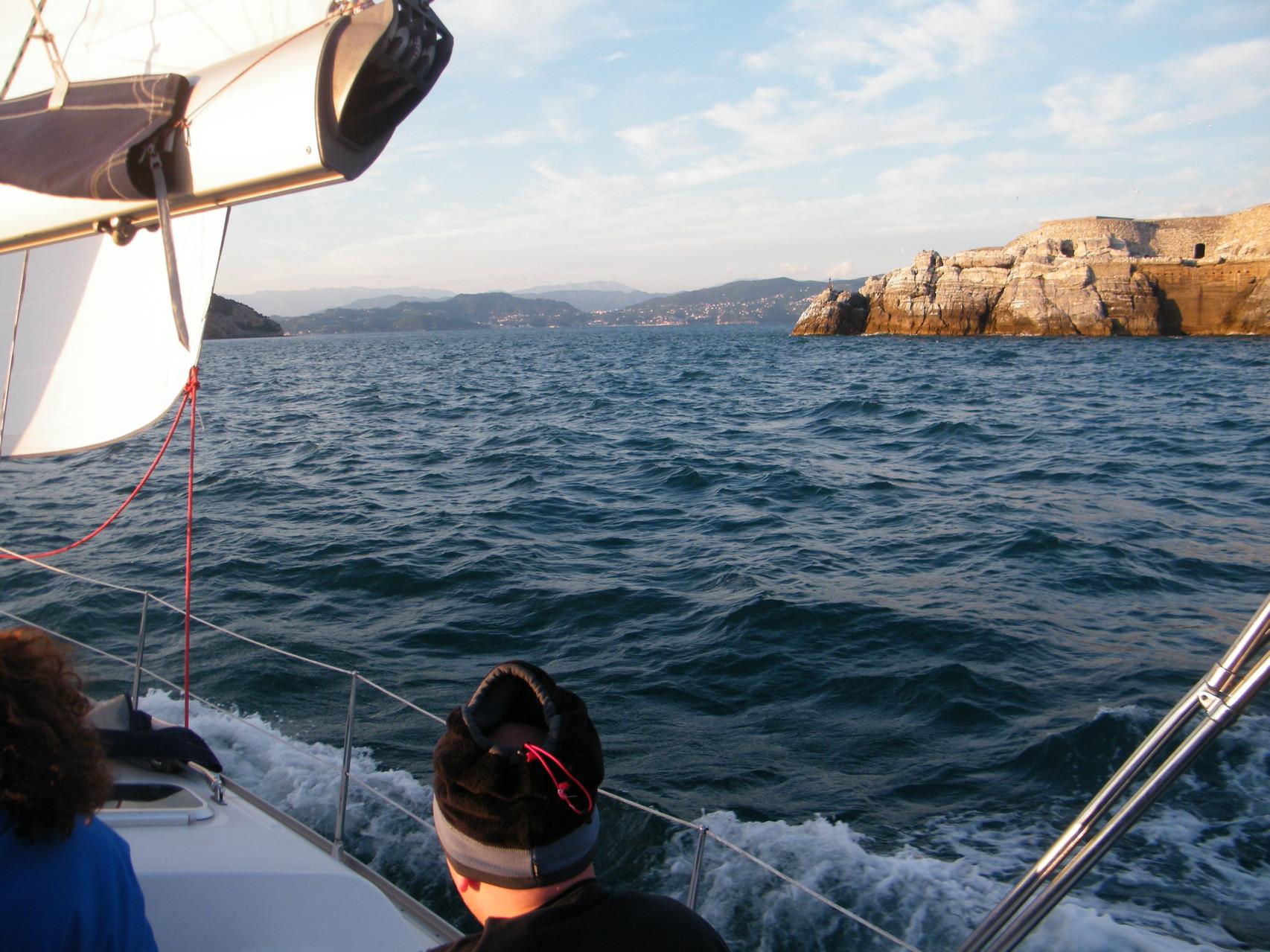Cinque Terre corso di vela