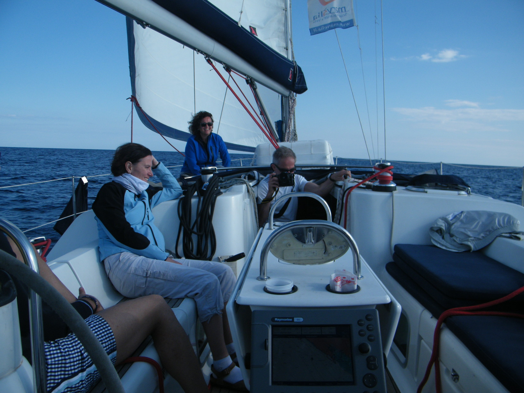 Barca a vela Liguria