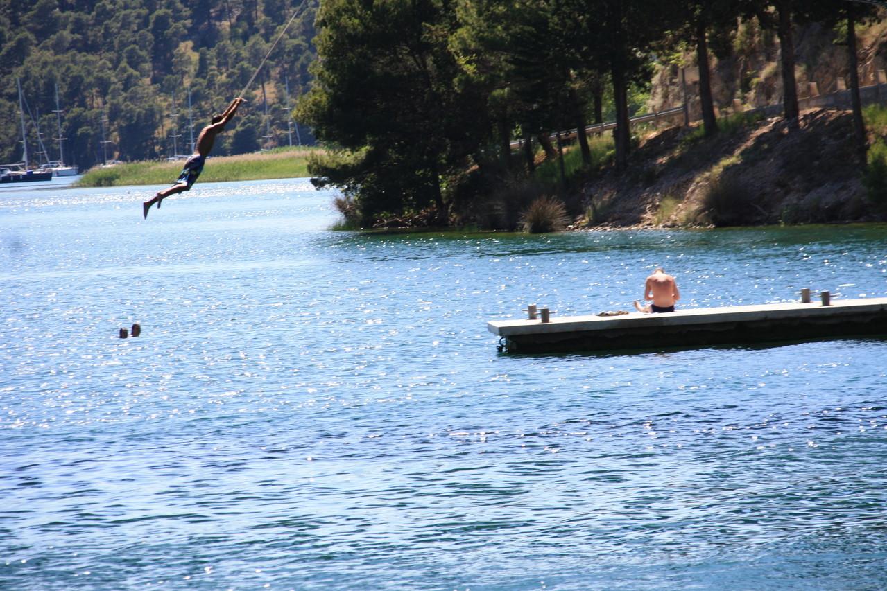 Crociere Croazia - I tuffi Parco Naturale della Kerka
