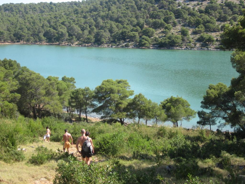 Lago Mir - baia di Telascica - crociera Croazia isole Kornati