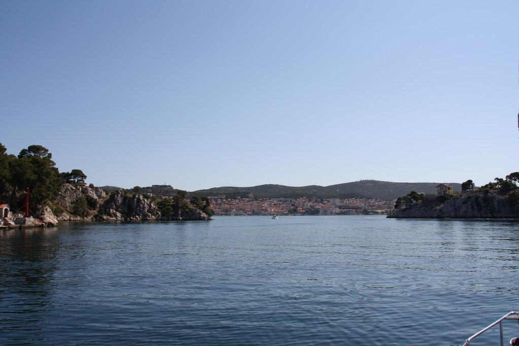 Sebenik sul fiume Krka Croazia isole Kornati