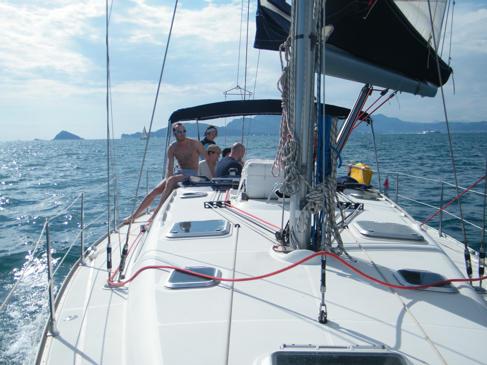 vela vacanze Cinque Terre Liguria