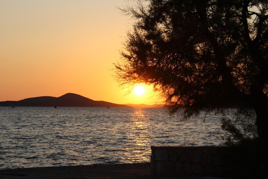 Il tramonto - crociera Croazia isole Kornati
