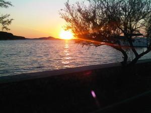 tramonto Isola di Zlarin Croazia