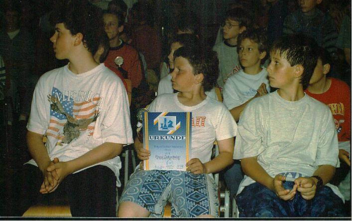 Franz Guttenthaler wurde 1996 beim Turnier in Eichendorf vom 27.05. bis 31.05. Bayerischer Meister der U 11