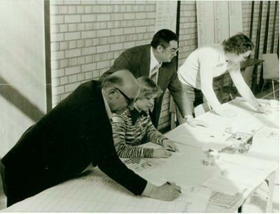 Turnierleitung 1975