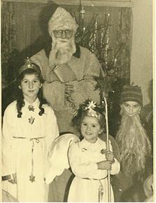 Weihnachtsfeier 1952