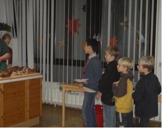Bilder von der sehr gut besuchten Jahresabschlussfeier 2005.