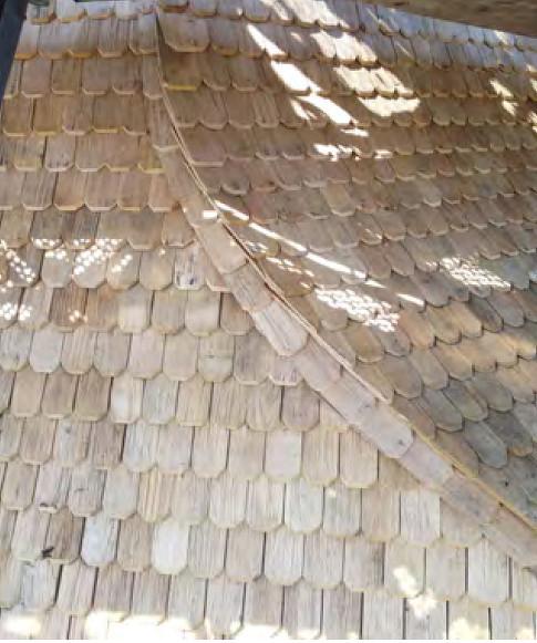 2014-07-23  weicher Übergang der Gratausbildung  von unterer zur oberer Dachfläche /Foto Klaus Jungk