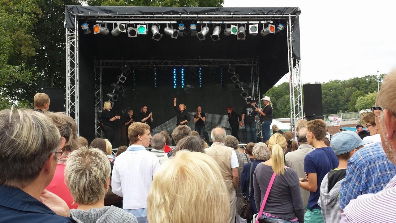 Berkenthiner Stecknitzfest 2013                Foto: Andrea Fernandes