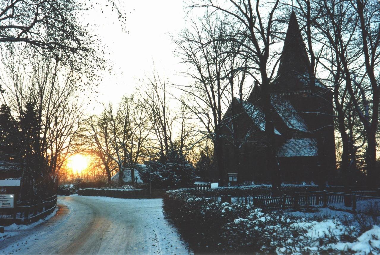 Maria-Magdalenen-Kirche zu Berkenthin   im Februar