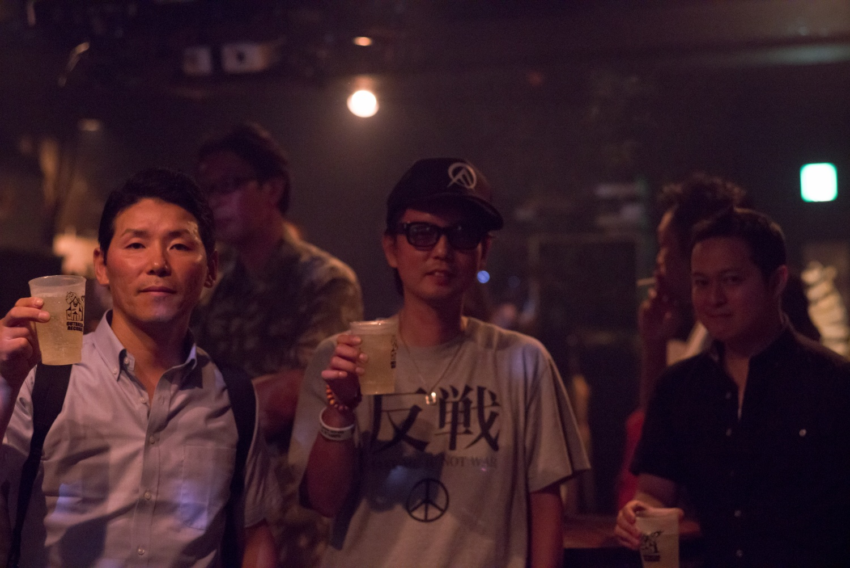 2017/07/18(TUE)四谷OUTBREAK お客様 photo by Azusa Yoshikawa