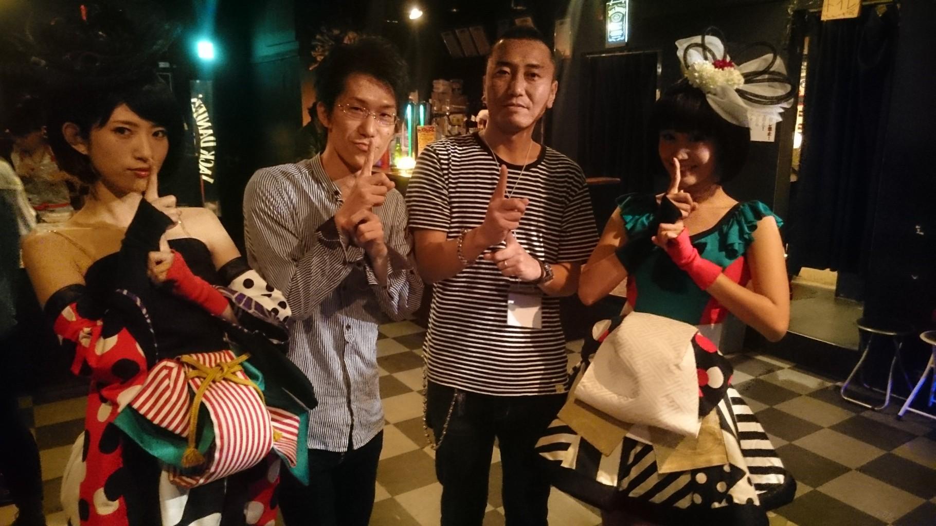 2015/10/02(FRI)四谷OUTBREAK  YANAKIKUさんと(笑)