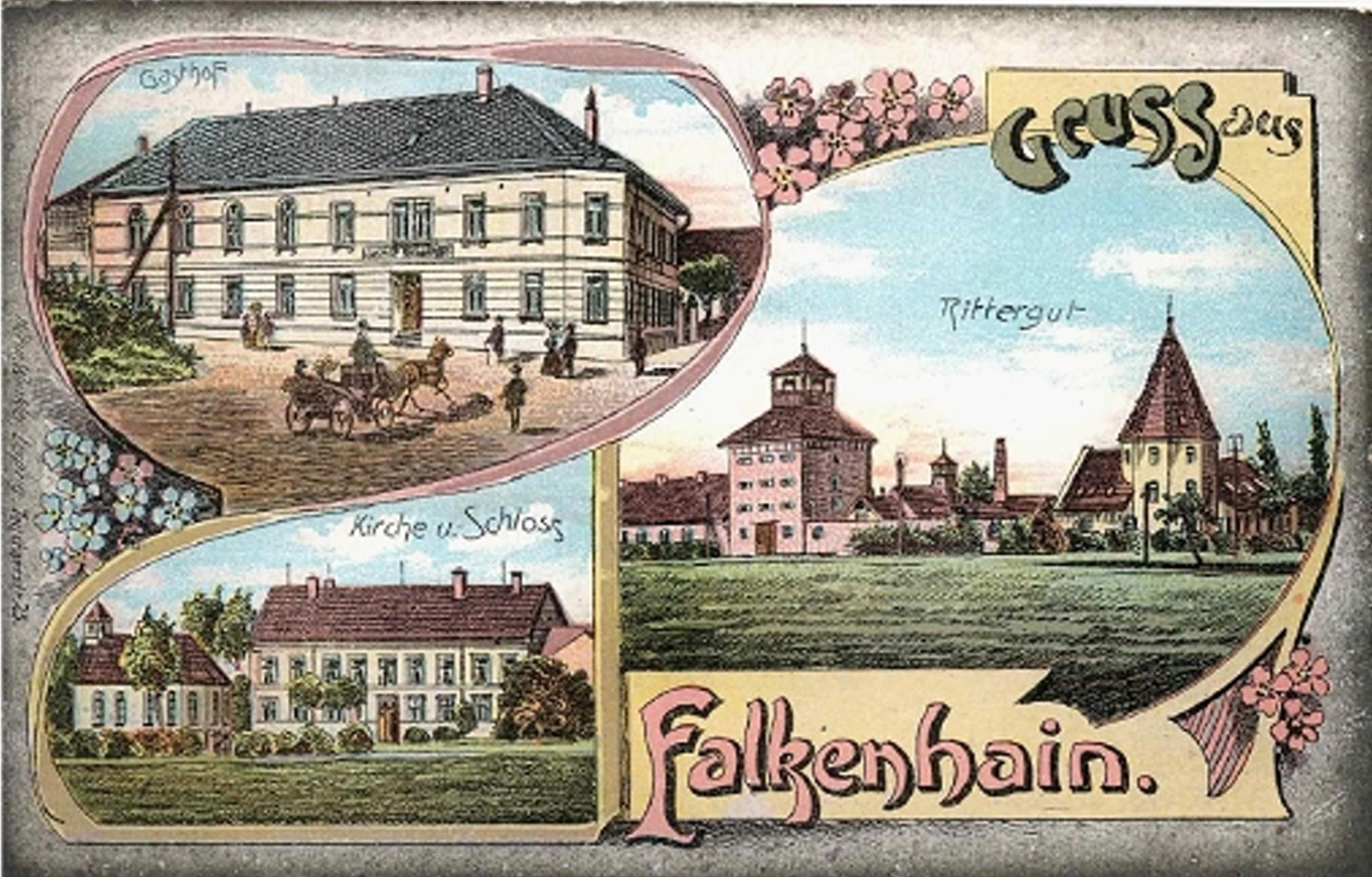 Falkenhain um 1905